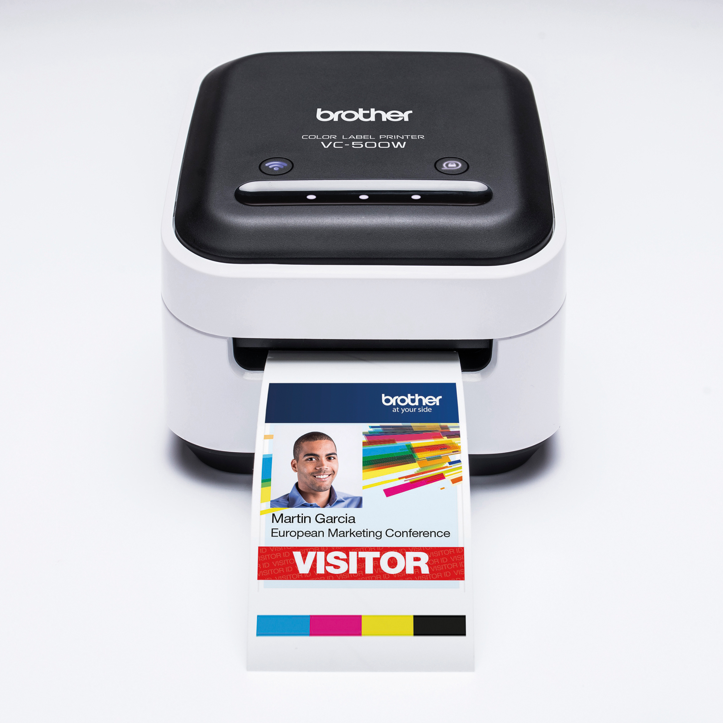 Brother VC500W Colour Label Printer With Wi-Fi Connectivity Ref VC500WZU1