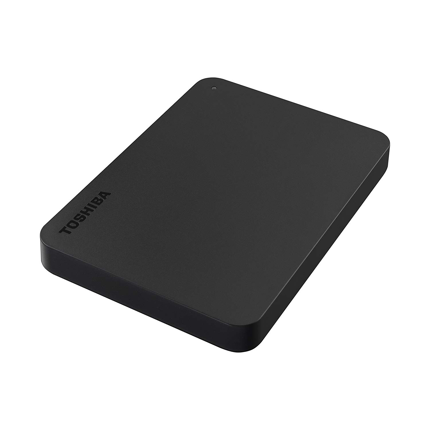Portable hard disk storage device Toshiba Canvio Basics Hard Drive USB 4TB Black Ref HDTB440EK3CA
