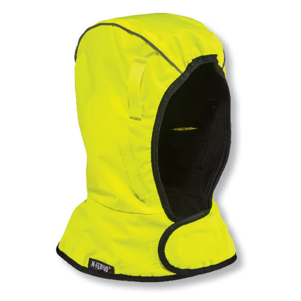 Ergodyne 2-Layer Fleece Winter Helmet Liner Yellow Ref EY6842Y *Up to 3 Day Leadtime*