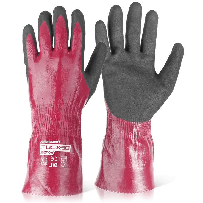 Wonder Grip WG-728L Dexcut Fully Coated Glove Large Grey Ref WG728LL Up to 3 Day Leadtime