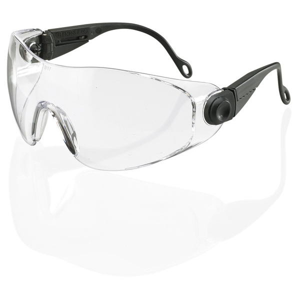 BBrand Diego Safety Spectacles Clear Ref BBDS [Pack 10] Up to 3 Day Leadtime