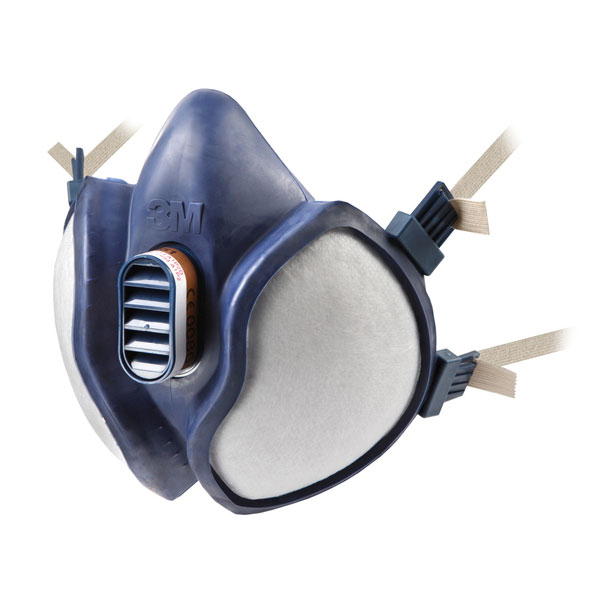 3M Organic Gas/Vapour and Particulate Respirator with Neck Strap Blue Ref 4251 Up to 3 Day Leadtime