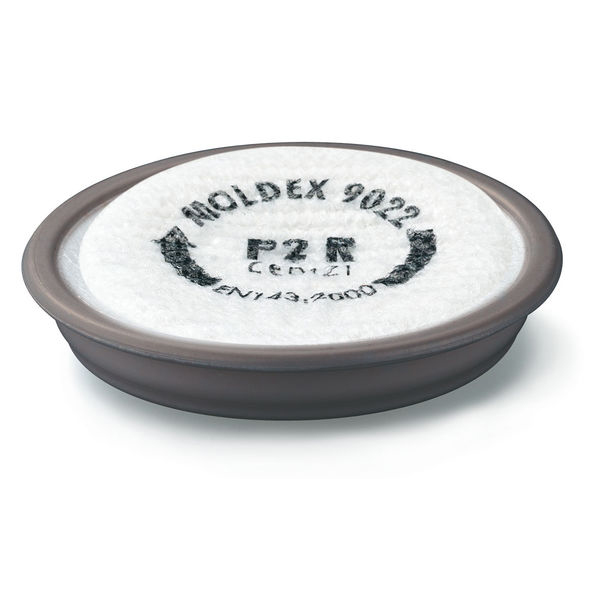 Moldex 9022 P2R D Plus Ozone Particulate Filter White Ref M9022 [Pack 6] Up to 3 Day Leadtime