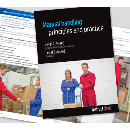 Equipment Click Medical Manual Handling Book Fully Illustrated Ref CM1319 *Up to 3 Day Leadtime*