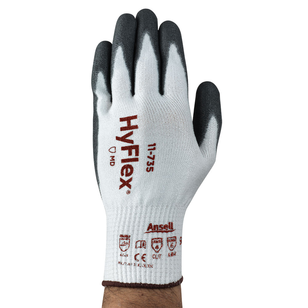 Ansell Hyflex 11-735 Glove Size 9 Large Ref AN11-735L *Up to 3 Day Leadtime*