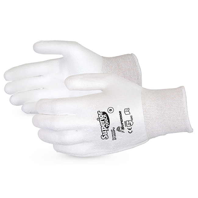 Superior Glove Superior Touch Cut-Resistant Dyneema 9 White Ref SUS13SXPU09 Up to 3 Day Leadtime
