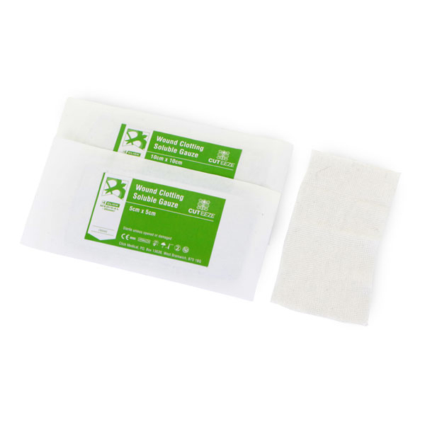 Limitless Cut-Eeze Haemostatic Soluble Dressing Gauze 10x10cm Ref CM0568 *Up to 3 Day Leadtime*