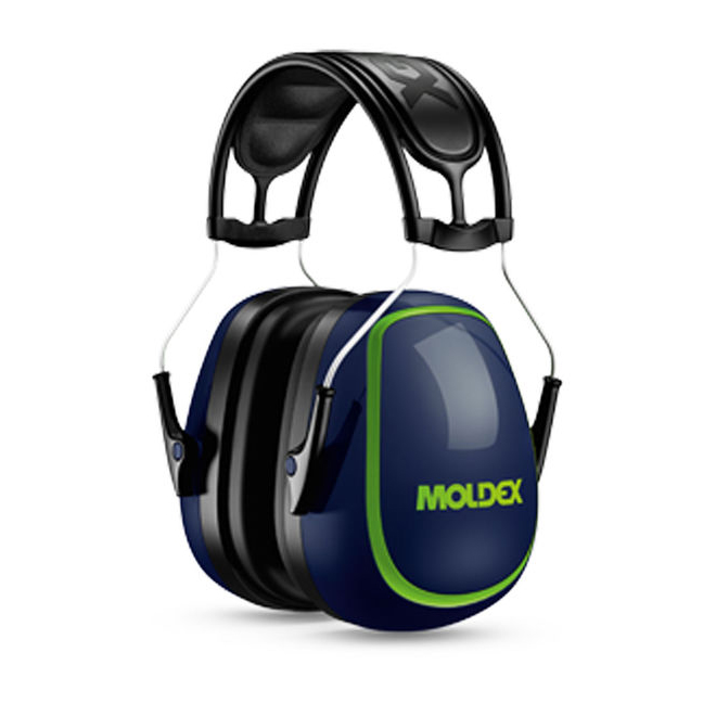 Moldex M5 Ear Muff Navy Blue Attenuation 34 dB Ref M6120 *Up to 3 Day Leadtime*