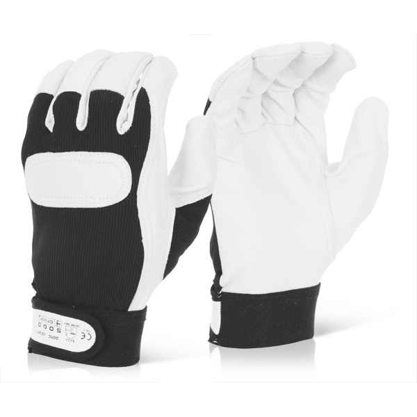 Click2000 Drivers Glove Velcro Cuff XL Ref DGVCXL [Pack 10] *Up to 3 Day Leadtime*
