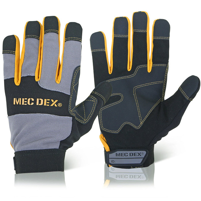 Mecdex Work Passion Impact Mechanics Glove 2XL Ref MECDY-713XXL Up to 3 Day Leadtime