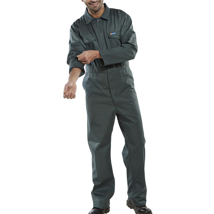 Click Workwear Boilersuit Spruce Green Size 46 Ref PCBSS46 *Up to 3 Day Leadtime*