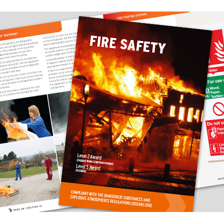 Accident Reports Books / Information Manuals Click Medical Fire Safety Book Comprehensive Manual Fully Illustrated Ref CM1320 *Up to 3 Day Leadtime*