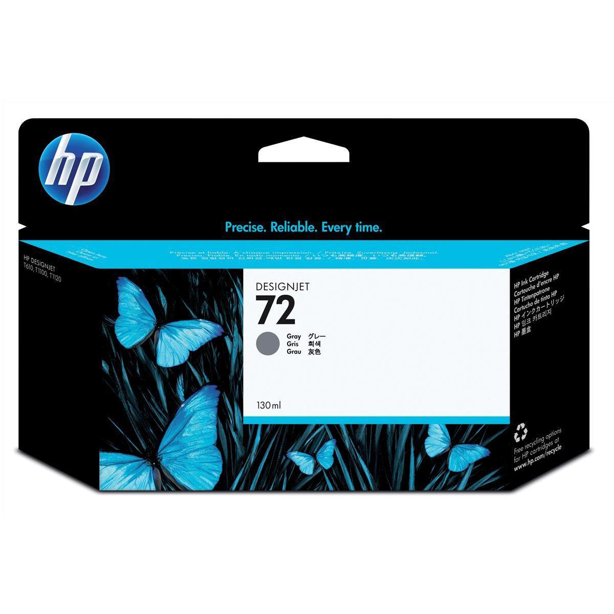 Hewlett Packard [HP] No.72 Inkjet Cartridge High Yield 130ml Grey Ref C9374A