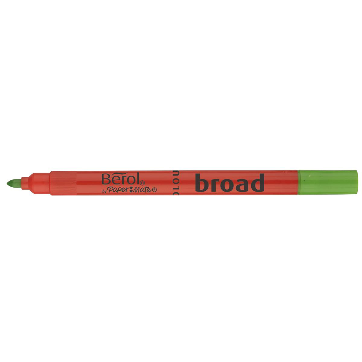 Berol Colour Broad Pen with Washable Ink 1.7mm Line Assorted Ref 2057596 Wallet 12