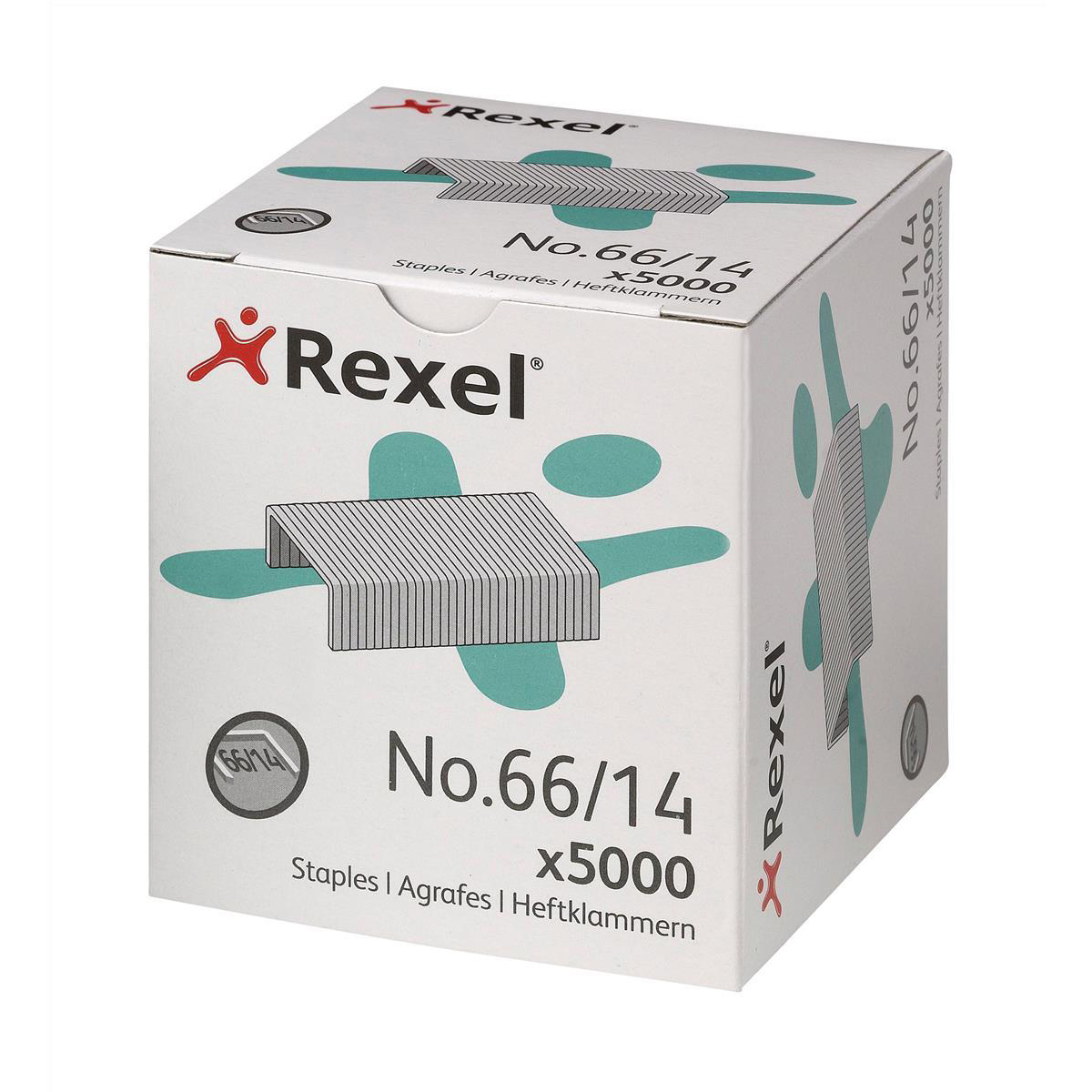 Rexel 66 Staples 14mm Ref 06075 [Pack 5000]