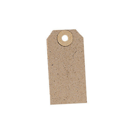 Tags Tag Label Unstrung 82x41mm Buff Pack 1000