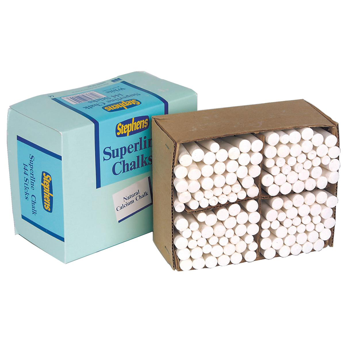 Stephens Superline Chalk White Ref RS522553 Pack 144