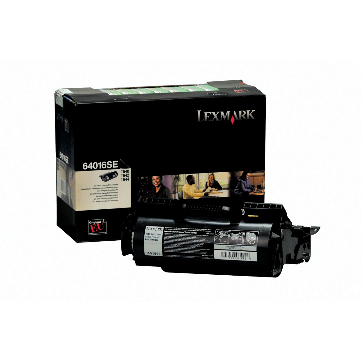 Lexmark T630/T632/T634 Laser Toner Cartridge Return Program Page Life 5000pp Black Ref 12A7460