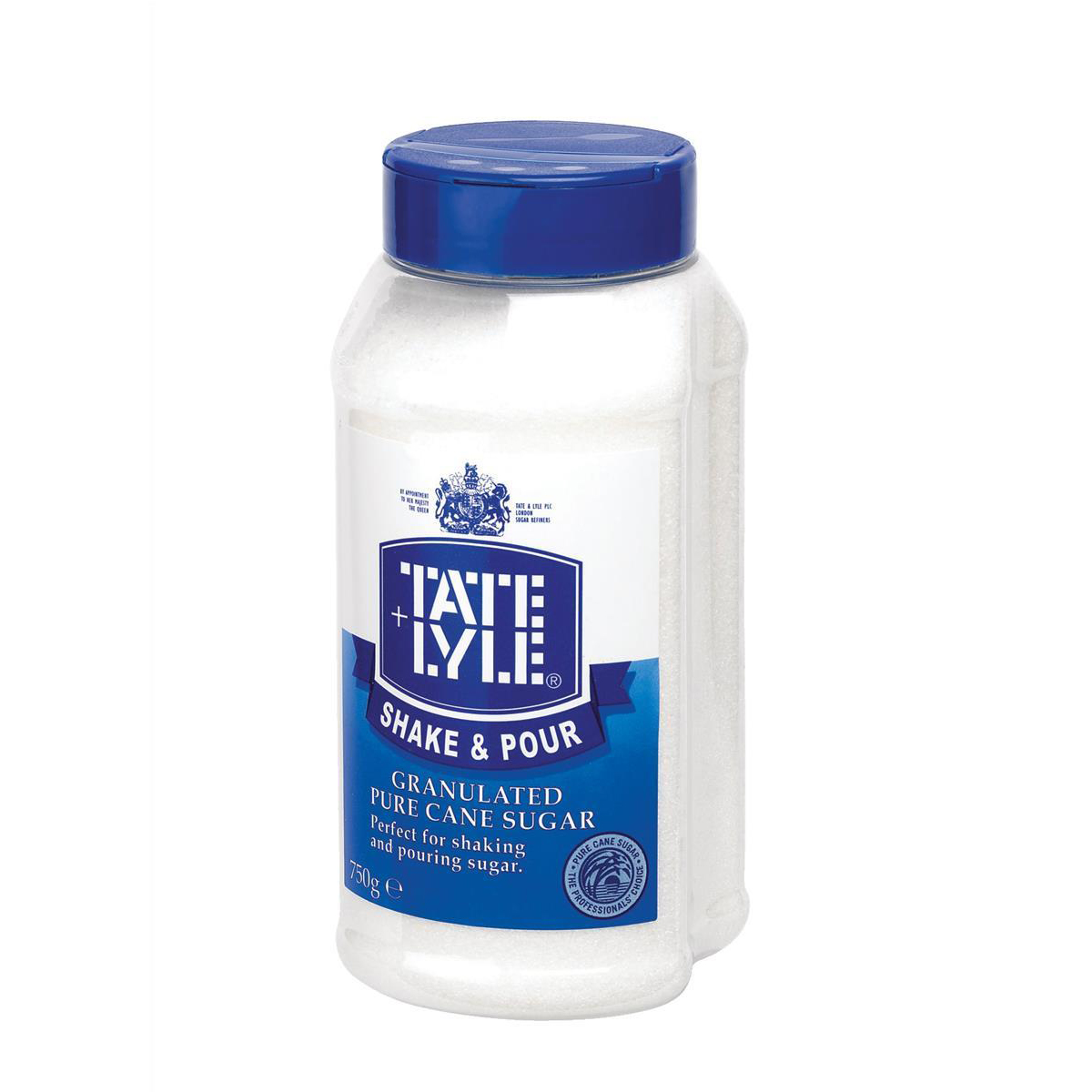 Natural sugars or sweetening products Tate & Lyle Shake & Pour White Sugar Dispenser 750g Ref A03907