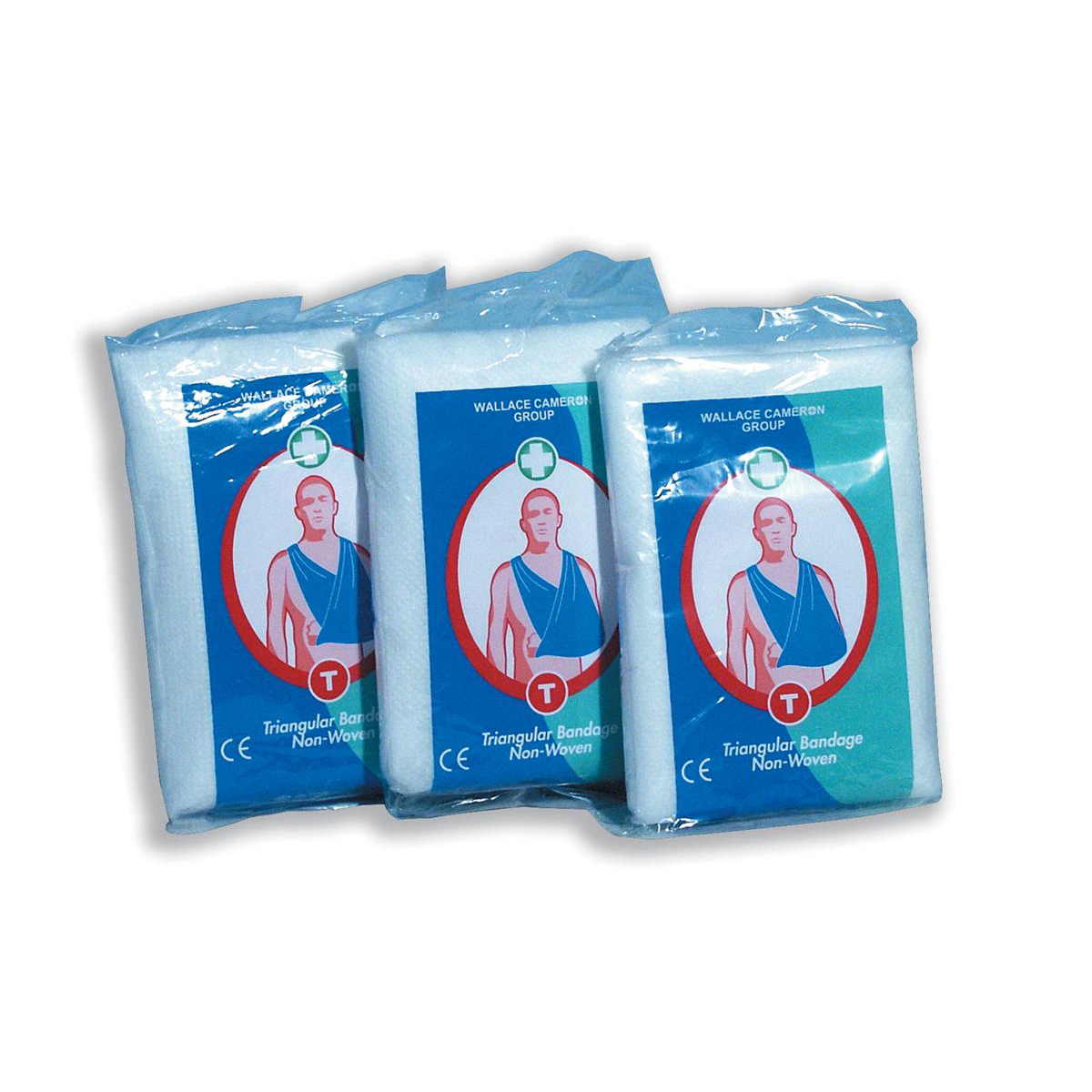 Bandages Wallace Cameron Triangular Bandages Hard-wearing Compliance Reusable Ref 1805017 Pack 6
