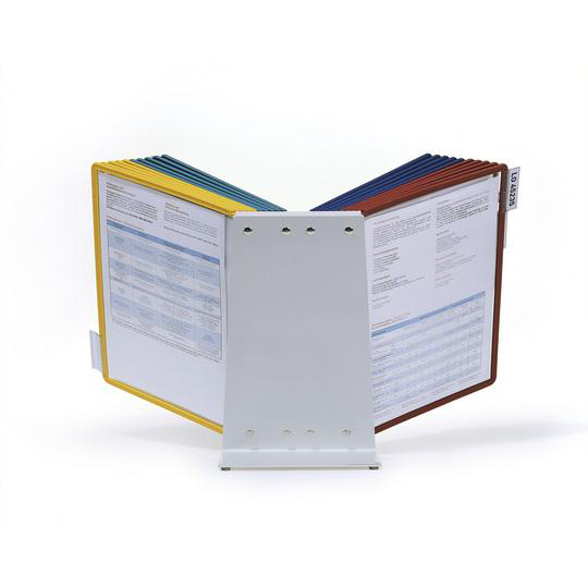 Durable Desk Display Unit Complete with 20 Tabs and 20 Panels A4 Assorted Ref 5699/00