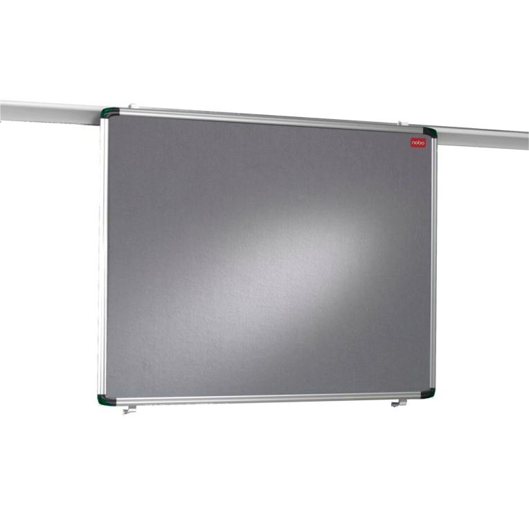 Nobo Pro-Rail Notice Board 1200x900mm Aluminium Trim Ref 1901236