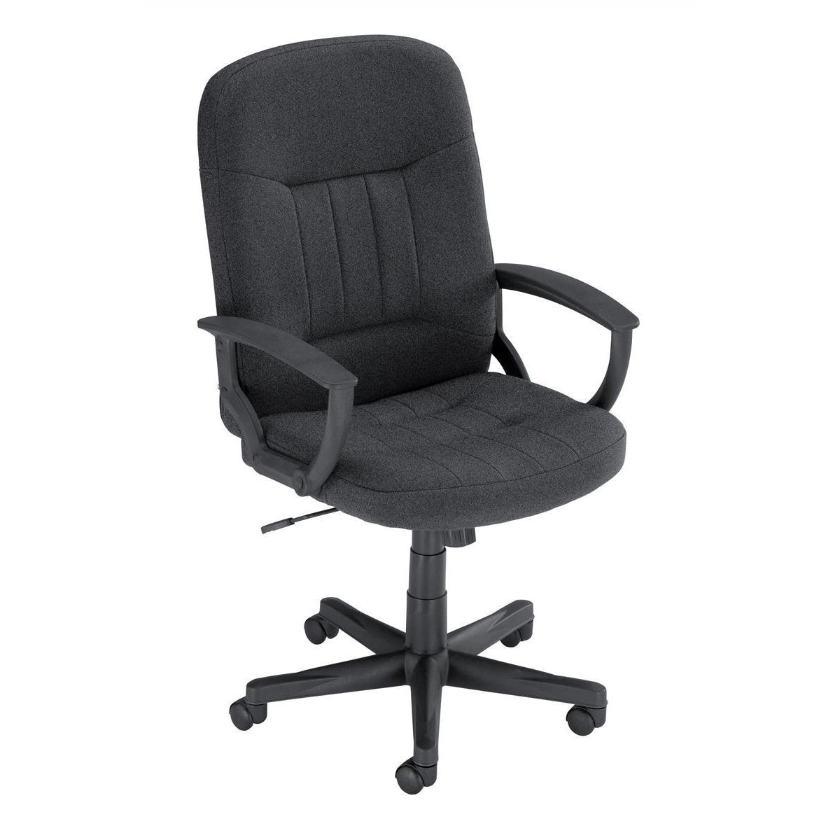 Task seating Trexus County Manager Chair Charcoal 520x420x420-520mm Ref 517067