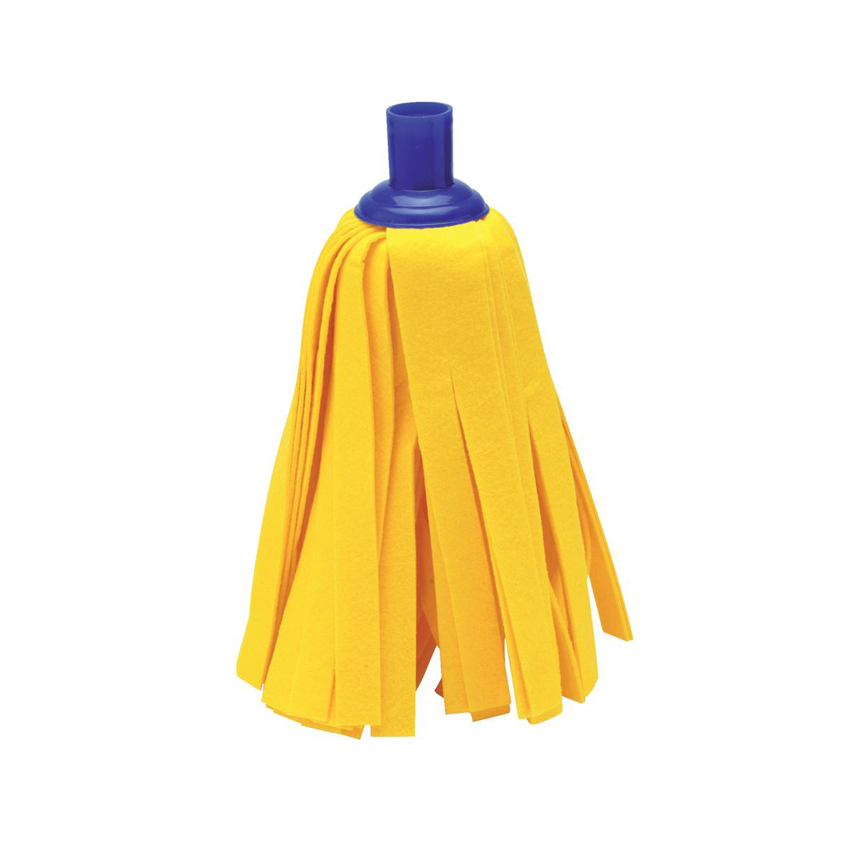 Mop heads Addis Cloth Mop Head Refill Thick Absorbent Strands and Blue Socket Ref 510522