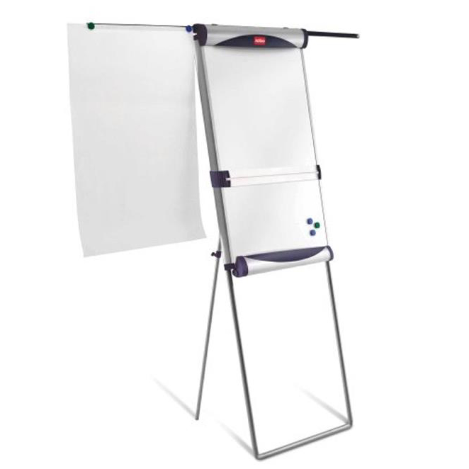 Nobo Classic Steel Foot Bar Magnetic Easel with Extending Arms 1901919