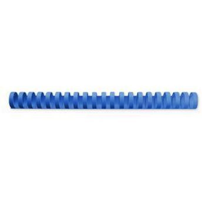 GBC Binding Combs Plastic 21 Ring 145 Sheets A4 16mm Blue Ref 4028620U [Pack 100]