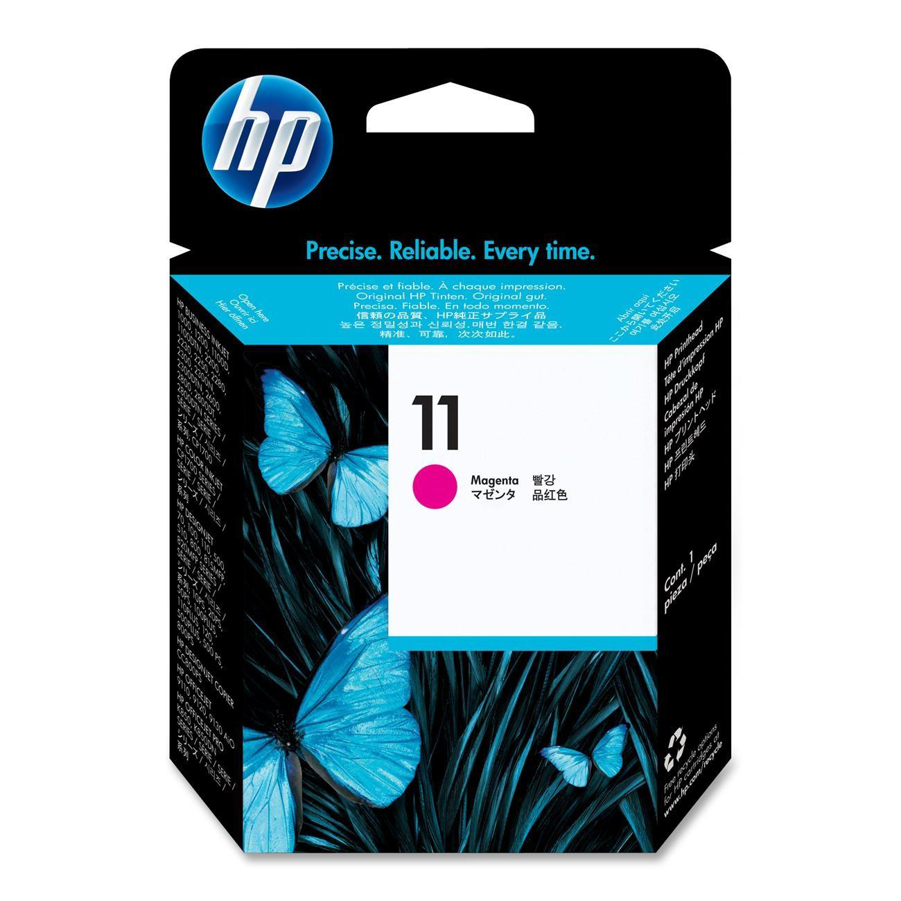 Hewlett Packard [HP] No.11 Inkjet Printhead Page Life 16000pp Magenta Ref C4812A