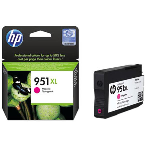 Hewlett Packard [HP] No. 951XL Inkjet Cartridge High Capacity Page Life 1300pp Magenta Ref CN047AE #BGX