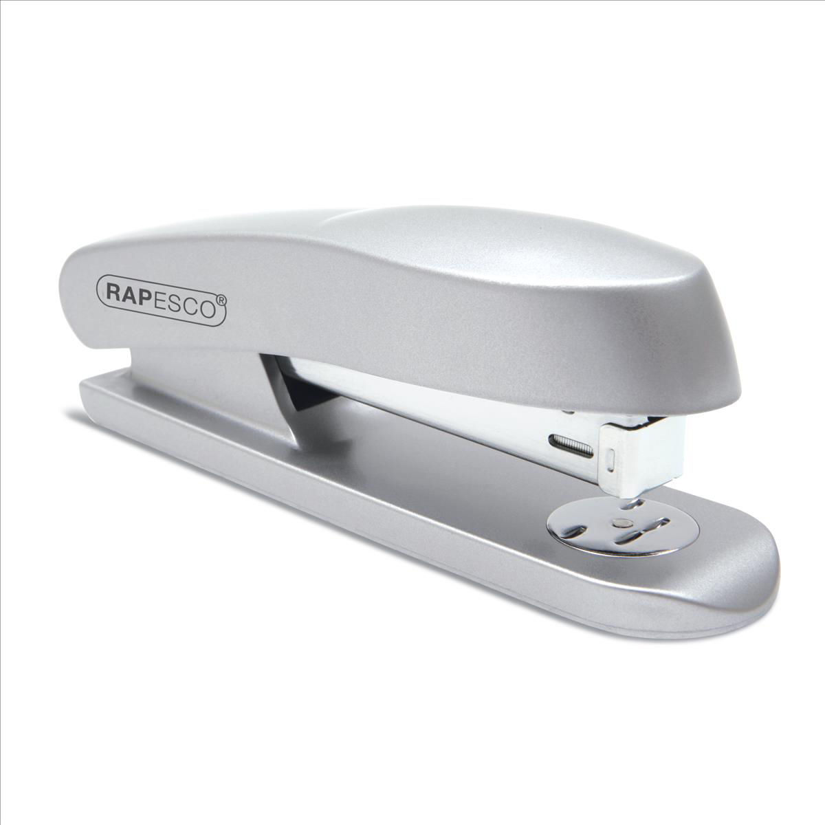 Staplers Rapesco Skippa Stapler Full Strip Chrome Ref RES260C1