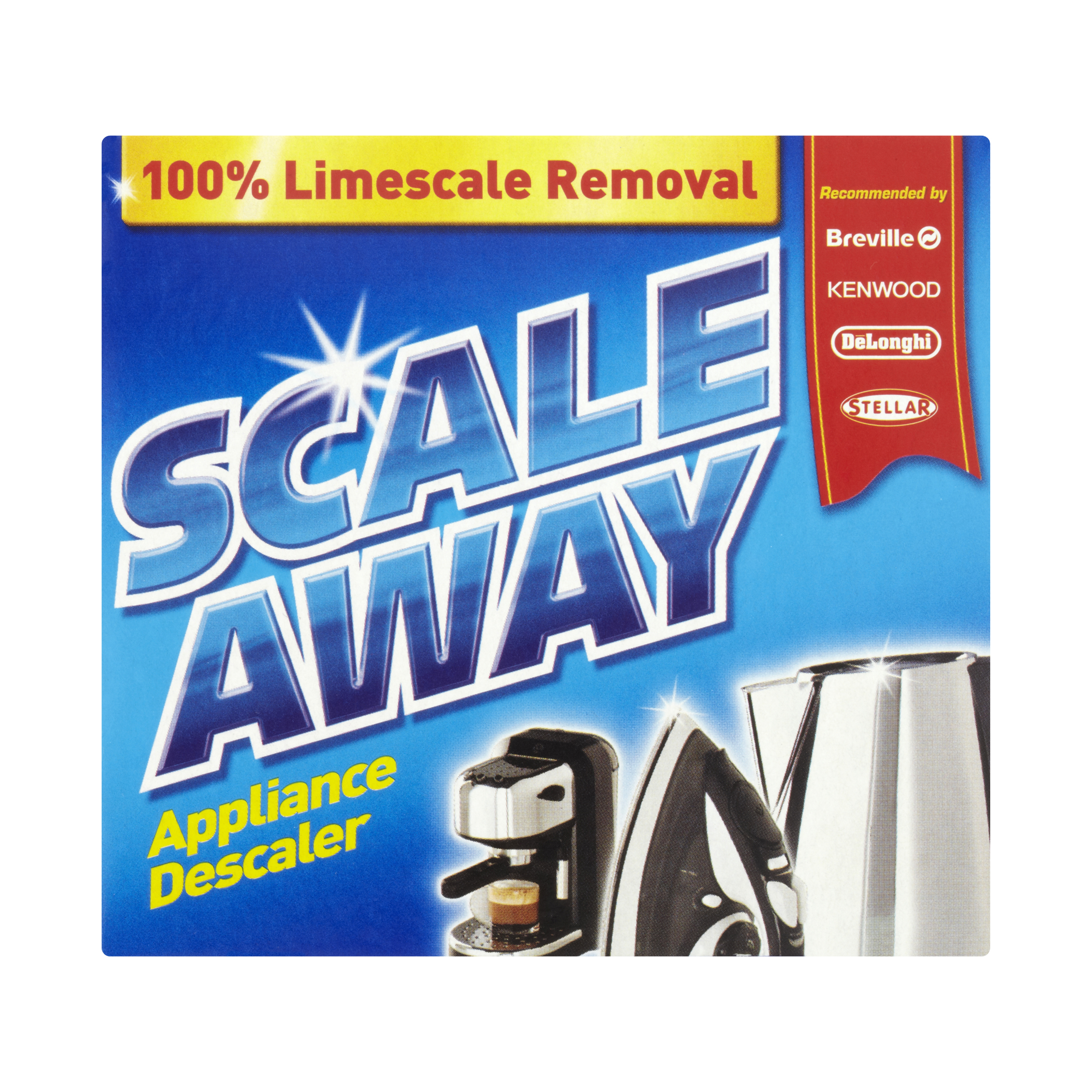 Cleaning Chemicals Scaleaway De-Scaler 4x75g Ref RB2158