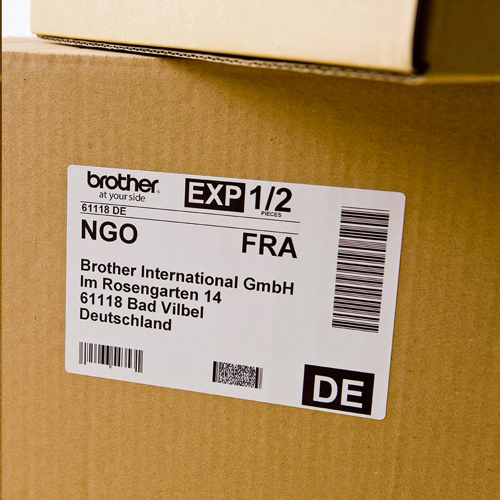 Brother P-Touch DK-11241 102mmx152mm Large Shipping Labels 200 Labels Ref DK11241 *3 to 5 Day Leadtime*