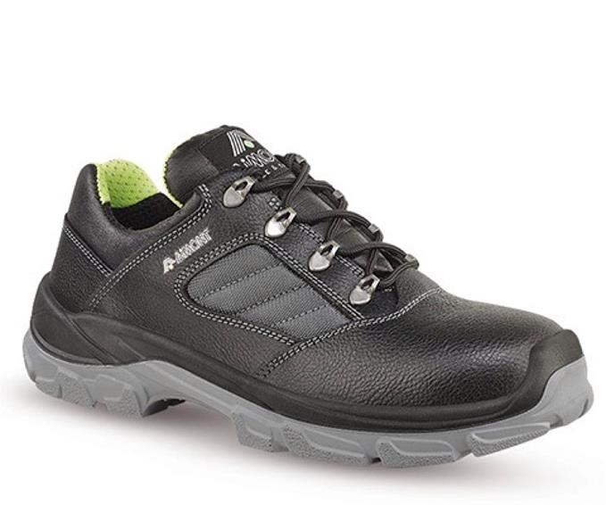Aimont Kong Safety Shoes Protective Toecap Size 10 Black Ref DYC0610 [Pair]
