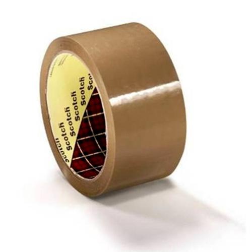 Scotch Packaging Tape Medium-duty Printable Polypropylene Buff Ref 18855 [Pack 36 Rolls]