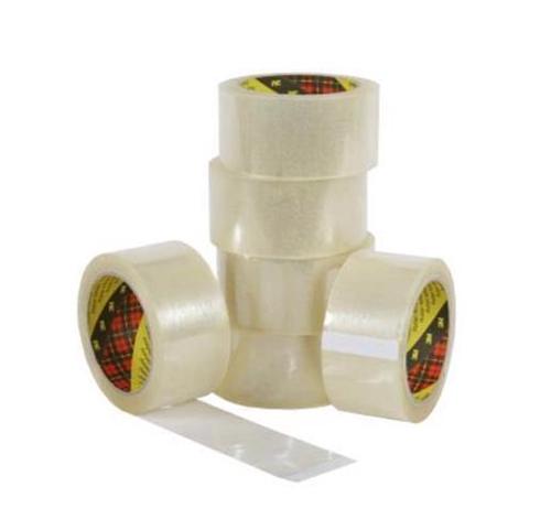 Scotch Packaging Tape Medium-duty Printable Polypropylene Clear Ref 18849 [Pack 36 Rolls]
