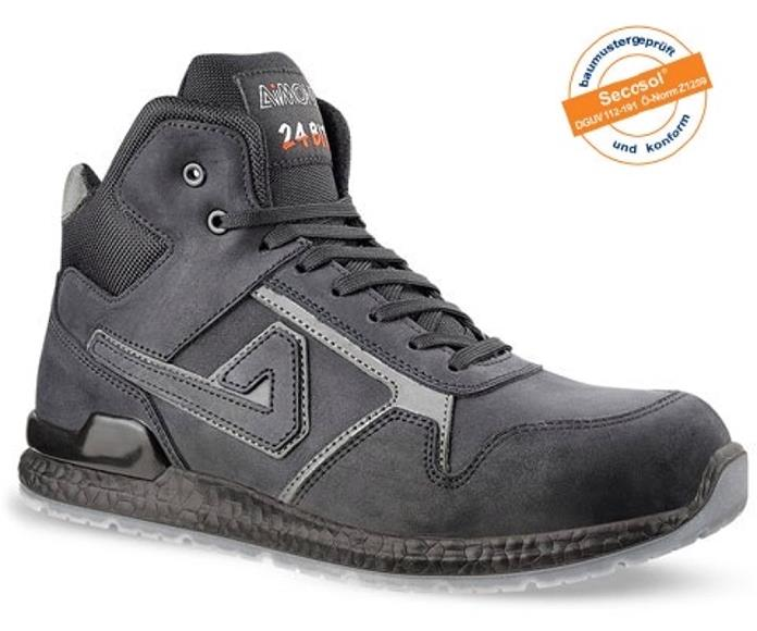Aimont Kanye Safety Boots Protective Toecap Size 9 Black Ref AB10409 [Pair]