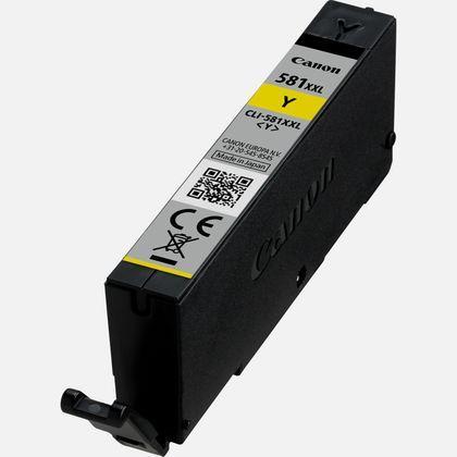 Canon CLI-581 XXL Inkjet Cartridge Page Life 830pp Yellow Ref 1997C001