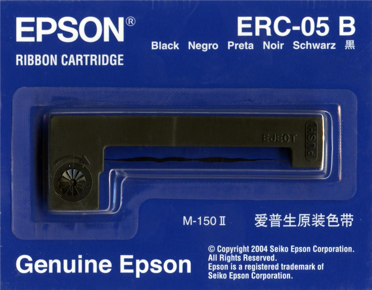 Epson ERC5 Fabric Ribbon Black Ref C4S015352
