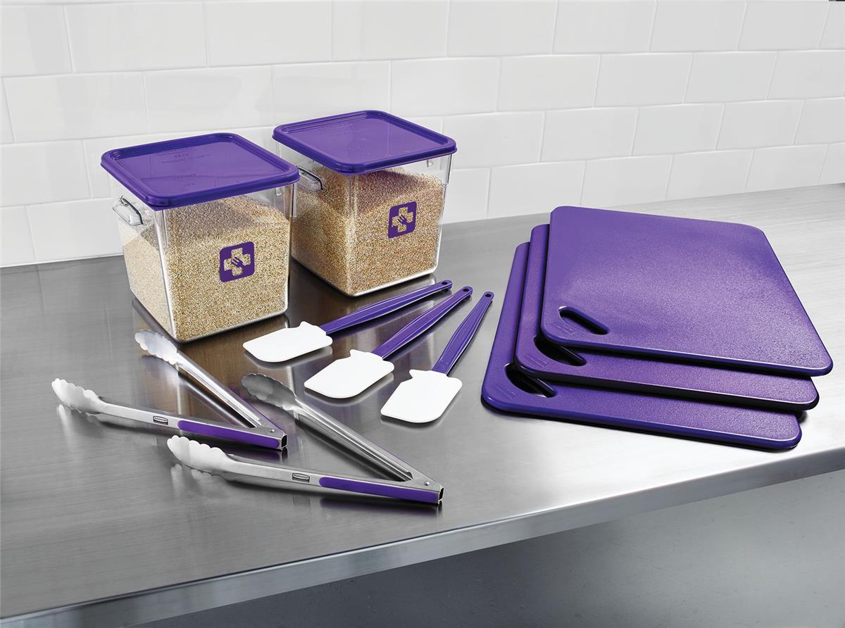 Food Service Kit 12 Piece Colour-coded Purple