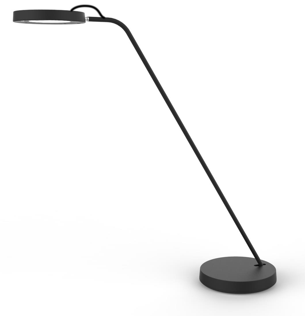 Unilux i-Light LED Desk Lamp Remote Adjustable Light Settings Ref 400101416