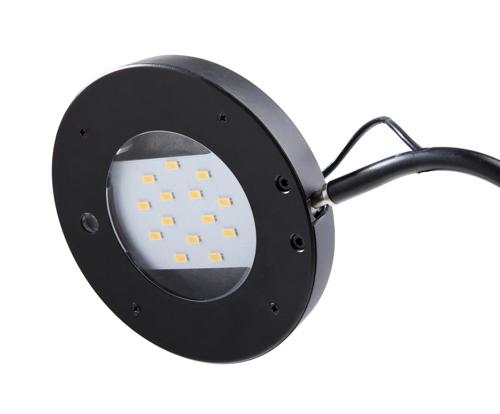 Unilux i-Light LED Desk Lamp Remote Adjustable Light Settings Ref 400101416