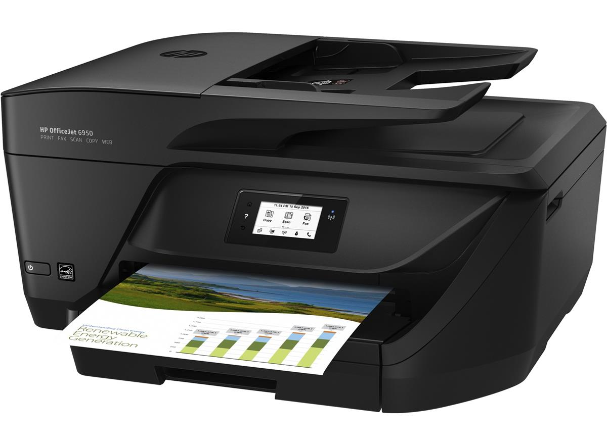 Hewlett Packard [HP] Officejet 6950 Multifunction Inkjet Printer 56mm Touchscreen A4 Ref P4C85A#BHC