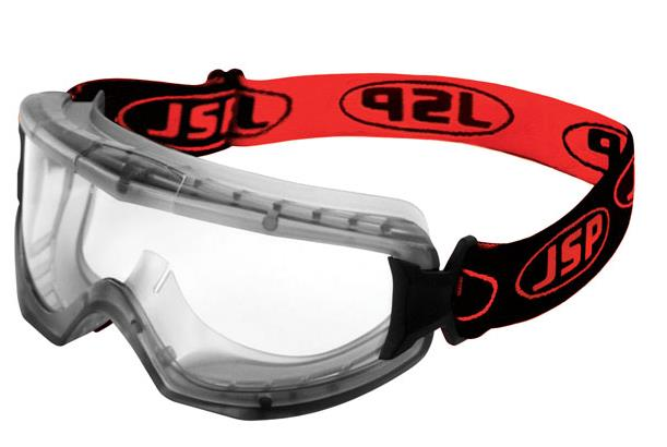 JSP EVO Vent Goggles N-rated Black/Red Ref AGM020-623-0G1 [Pack 10]