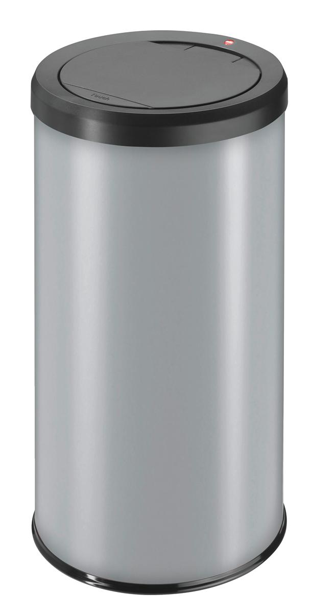 Image for Big Bin Touch Round Stainless Steel and Coated Sheet Steel 45 Litre Silver Ref 0845-120