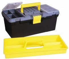 Image for Stanley Toolbox 16inch with Removable Tray Ref 1-93-335