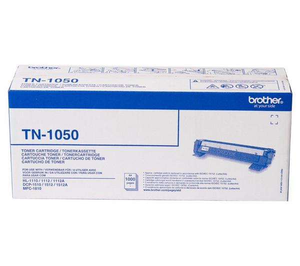 Brother Laser Toner Cartridge Page Life 1000pp Black Ref TN1050