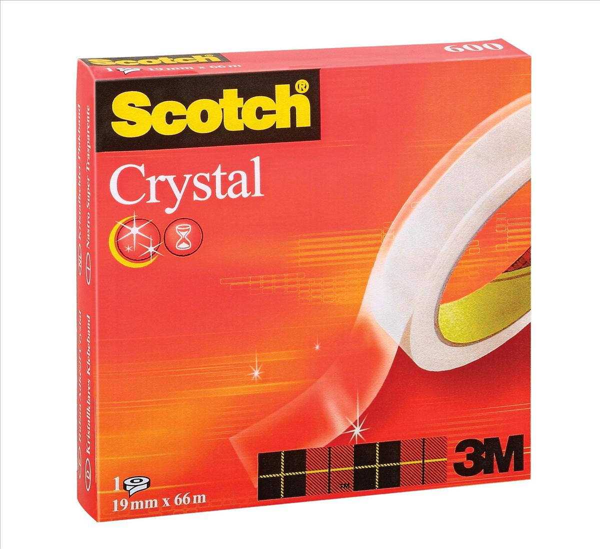 Image for Scotch Crystal Tape 19mmx66m Ref 6001966